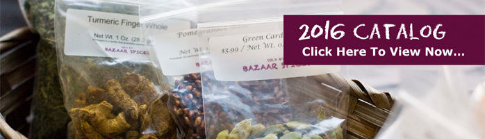 Check out Bazaar Spices Online Catalog